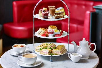Afternoon Tea with Prosecco Café Rouge