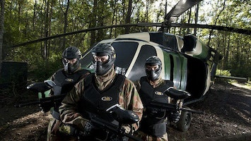 Half Day Paintballing with 100 Balls by Delta Force in Bournemouth