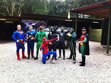 Half Day Paintballing with 100 Balls by Delta Force in Cardiff