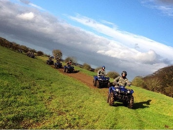 Clay Pigeon Shooting and Quad Trekking by Catton Hall Activity Centre in Manchester