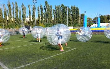 Bubble Football Vox Travel