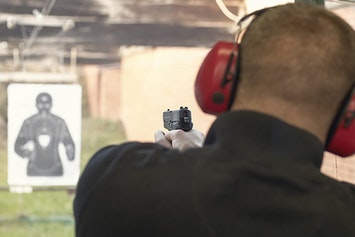 Pistol Shooting with 36 Bullets