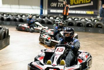 Indoor Go Karting – Open Timed Race  TeamSport