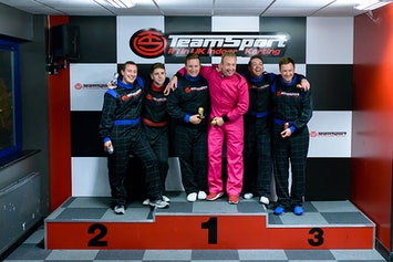 Indoor Go Karting - Open Timed Race by TeamSport in Bristol