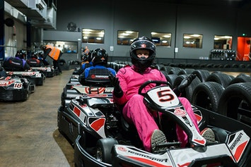 Indoor Go Karting - Open Timed Race TeamSport