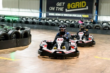 Indoor Go Karting - Open Timed Race by TeamSport in London