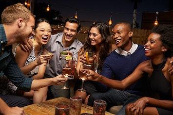 Cocktail Night Bar Crawl