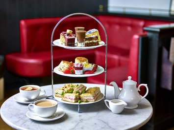Afternoon Tea with Prosecco by Café Rouge in Birmingham