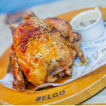 Bottomless Two-Course Meal by Belgo Bar and Restaurant in London