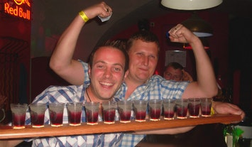 Guided Bar Crawl including Drinks in Riga