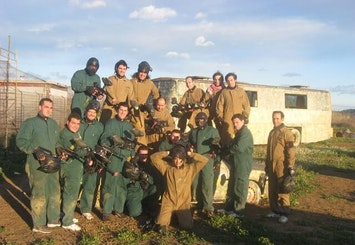 Paintballing with 200 Balls The Spain Event