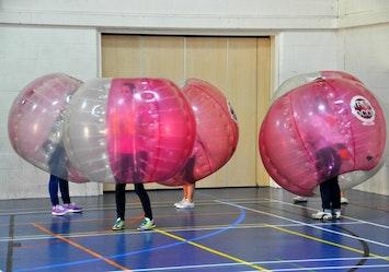 Bubble Mayhen in Glasgow